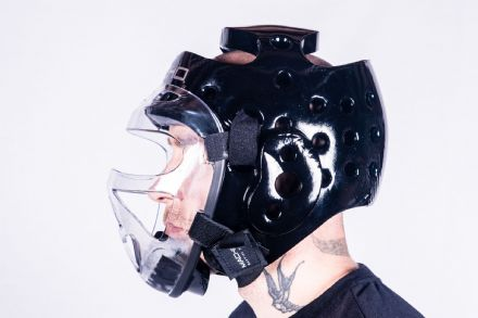 Adult's Macho Full Head/Face Shield